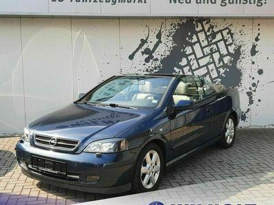 gebraucht Opel Astra Cabriolet G 2.2 16VNavi/R.Kamera/Leder/1.Hand