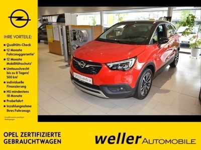 gebraucht Opel Crossland X 1.2 Ultimate-Navi DAB IntelliLux AGR