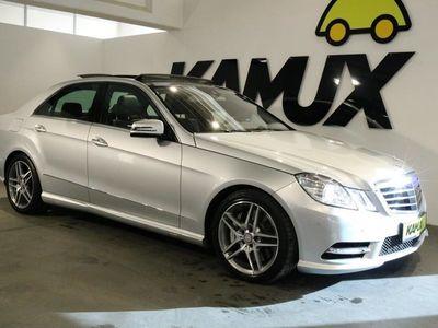 gebraucht Mercedes E500 CGI 7G-Tronic AMG +Bi-Xenon +Navi +Pano +Airmatic +4x SHZ