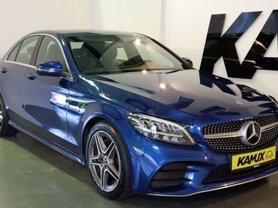 gebraucht Mercedes C220 d AMG +DISTRONIC PRO +Navi +Kamera +KEYLESS-START