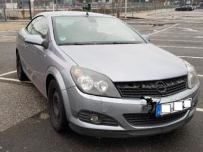 gebraucht Opel Astra Cabriolet Twintop 1,8 nur 110 TSK 8 Fach bereift klima scheckhe