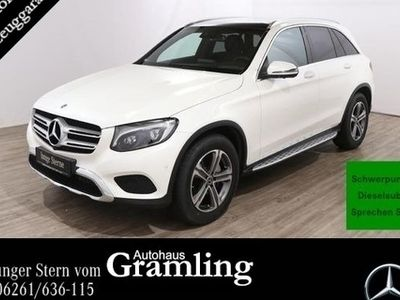 gebraucht Mercedes GLC350 d 4M Exclusive COMAND*Pano*AHK*360°*ILS*