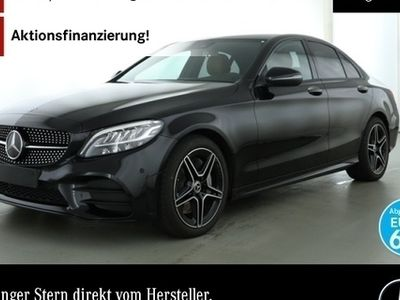 gebraucht Mercedes C300 AMG LED Night Keyl-GO Kamera Spurhalt-Ass