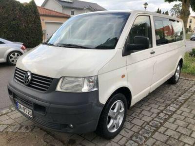 "gebraucht VW Shuttle Bus T5 2,5TDI 131PS- Lang Version - Klima 17"" Alu"