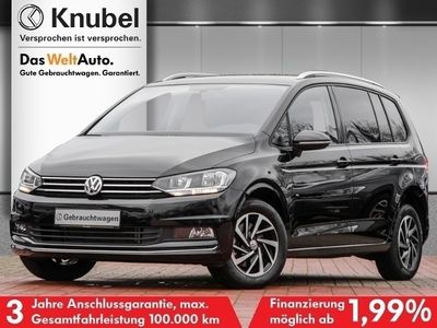 gebraucht VW Touran Comfortline JOIN 1.6 TDI DSG AHK NaviPro eKlappe 4xSHZ FamilyP.