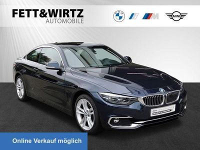 gebraucht BMW 430 d xDrive Coupe Luxury Kamera HUD LED GSD