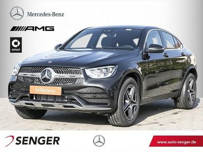 gebraucht Mercedes 200 GLC4M Coupé *AMG*Schiebedach*AHK*LED*Spur*