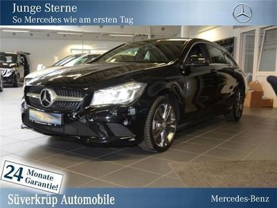 gebraucht Mercedes CLA180 Shooting Brake Urban/Chrom-Paket/Navi/Xenon/Parkass.