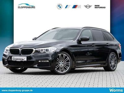 gebraucht BMW 520 d Touring M Sportpaket HiFi Aktivlenkung AHK