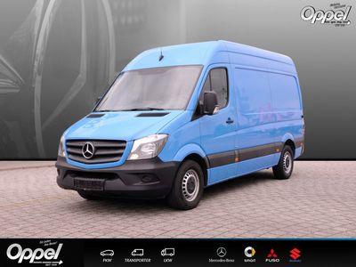 gebraucht Mercedes Sprinter 314 BT KA Hochd. +Klima+Beif.-2 Sitzer+