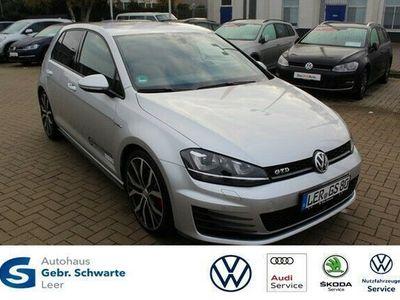 gebraucht VW Golf VII 2.0 TDI BMT/Start-Stopp GTD DSG Xenon Navi