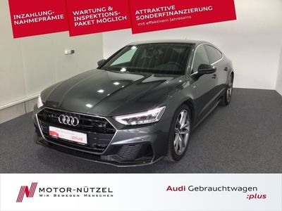gebraucht Audi A7 Sportback 50 TDI QU 2xS-LINE 5JG+LED+NAVI+ACC
