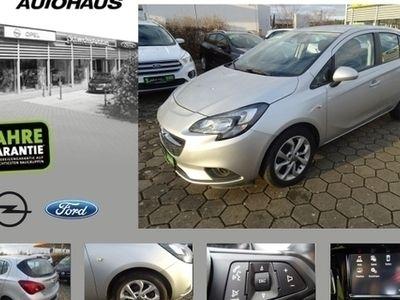 gebraucht Opel Corsa E 1.4 Active 5Türer Klima Radio Bluetooth