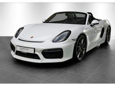 gebraucht Porsche Boxster Spyder SpAbgas Leder adSpSitz+ Klima Sitzheizung