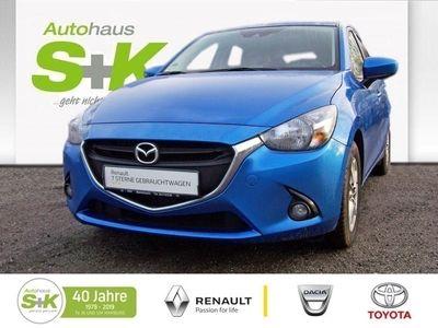 gebraucht Mazda 2 Exclusive-Line Skyactiv-G 75 +Tempomat+Navi