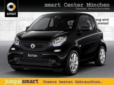 gebraucht Smart ForTwo Coupé 52kW DCT cool&Audio SHZ Pano PDC