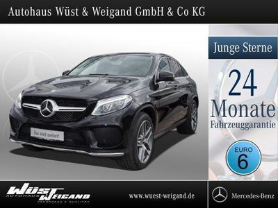 gebraucht Mercedes GLE350 d 4M Coupé AMG-Line Pano.-Dach+Airmatic
