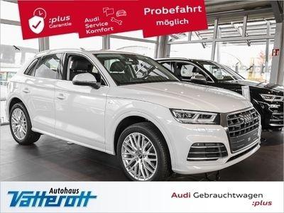 gebraucht Audi Q5 2.0 TDI quattro S Line Navi Leder 20 Zoll