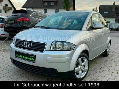 gebraucht Audi A2 1.4 *KLIMAAUTOM./8-FACH BEREIFT/GEPFELGT*