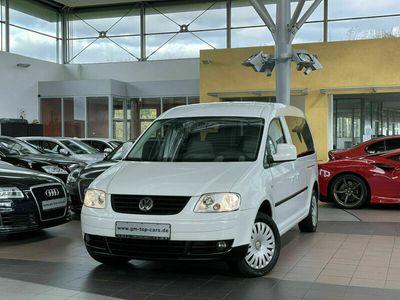 gebraucht VW Caddy Maxi Life 1.9Rollstuhlrampe 2 x Schiebetü