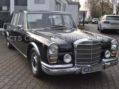 used Mercedes 600 W 100 UNI SCHWARZ 1. BESITZ 45000 km