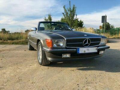 używany Mercedes 560 SL. BJ87 . EU-Optik . AMG-Felgen .H-Zul.