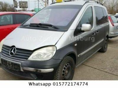 gebraucht Mercedes Vaneo Compact Van, Klima, Abs, Einparkhhilfe