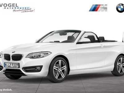 gebraucht BMW 218 i Cabrio Sport Line HiFi Xenon Tempomat USB