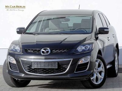 gebraucht Mazda CX-7 Exclusive-Line 125TKM*1HD*Scheckheft*Leder*Klima*