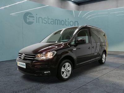 gebraucht VW Caddy Maxi CaddyCOMFORTLINE 1.4TGI ERDGAS 7SITZE NAVI