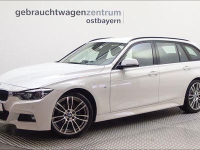 gebraucht BMW 318 d Touring M-Sportpaket Navi/LED/19