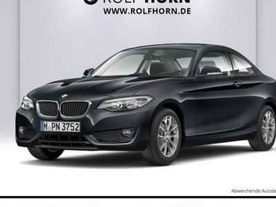 gebraucht BMW 220 i Coupe Klima Glasdach AHK PDC Sitzhzg Leder