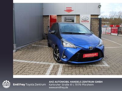 gebraucht Toyota Yaris 1,5-Dual-VVT-iE Style Selection