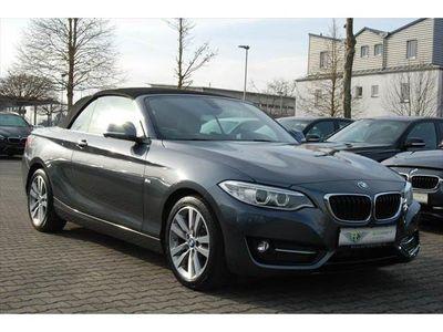gebraucht BMW 218 dA Cabrio Sport-Line NAV-PROF/XENON/LEDER/SHZ