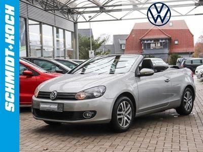 gebraucht VW Golf Cabriolet VI 1.6 TDI PDC GRA Radio m. MP3