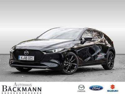 gebraucht Mazda 3 SKYACTIV-X 2.0 M Hybrid Selection NAVI LED