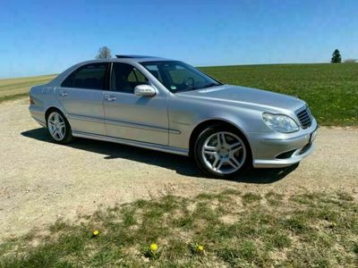 gebraucht Mercedes S55 AMG Mercedes BenzAMG Lang 114.000km Vollaus.