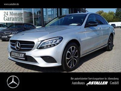 gebraucht Mercedes C180 Avantgarde+Night+Kam+LEDHi+3xAdvanced+Navi