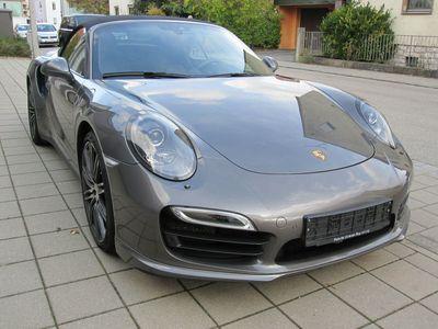 gebraucht Porsche 991 Turbo Cabriolet*2Jahre Approved*1.Hand*