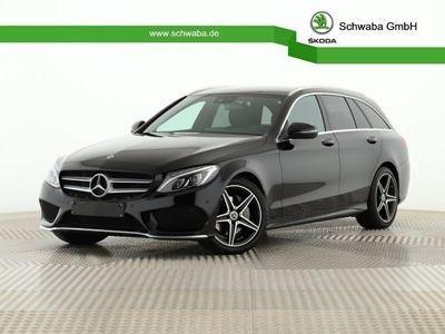 gebraucht Mercedes C200 T Edition C AMG-Line *LED*NAV*R-KAM*LEDER*
