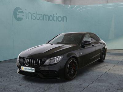 gebraucht Mercedes C63 AMG C 63 AMGAMG S Night Panorama 3xHighEnd Memory Vmax