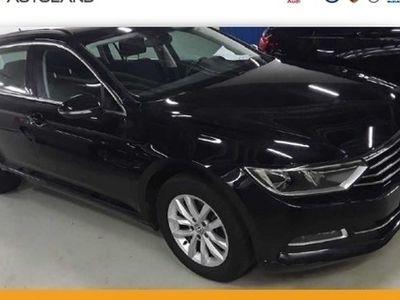 gebraucht VW Passat Variant Comfortline 2.0 TDI BMT DSG schwarz