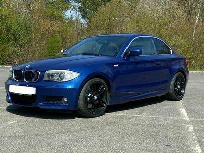 gebraucht BMW 123 Coupé d / M-Paket / Navi