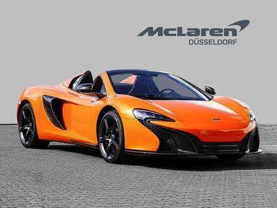 gebraucht McLaren 650S Spider Tarocco Orange Sports Exhaust