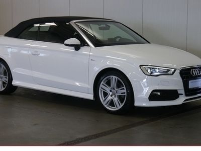 gebraucht Audi A3 Cabriolet 1.4 TFSI S line S tronic S-Line Sportpak