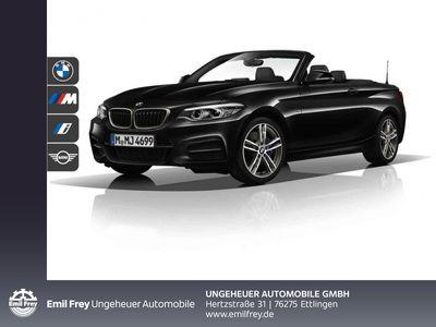 gebraucht BMW 218 i Cabrio M Sportpaket HK HiFi DAB LED WLAN