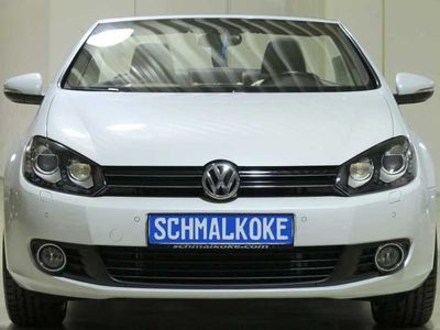 gebraucht VW Golf Cabriolet TDI2.0 BMT DSG Exclusive Leder Xe