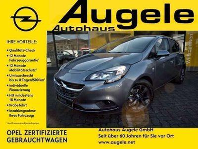 gebraucht Opel Corsa E 1.4, Rückfahrkamera, Parkpilotsystem, SHZ