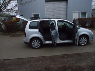 gebraucht VW Touran Trendline Automatik Klima Scheckheftgepf.