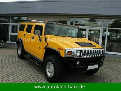 gebraucht Hummer H2 6.0 1.Hand*NUR SAISON*BOSE*LEDER*ZGG 3.5t*TOP als SUV/Geländewagen/Pickup in Wernigerode